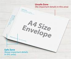 A4 Envelope A4 Size Envelope October 12 Concepts