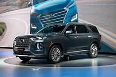 2020 Hyundai Suv by 2020 Hyundai Palisade Crossover Revealed Three Row Suv