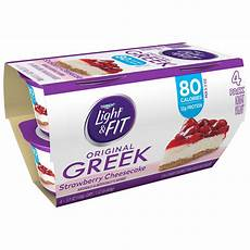 Dannon Light And Fit Strawberry Cheesecake Yogurt Nutrition Dannon Light Amp Fit Non Fat Strawberry Cheesecake Greek