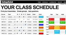 Make Your Own School Schedule Pin By Autumn Griggs On Organization Pinterest