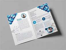 Foldable Pamphlet Template Fancy Bi Fold Brochure Template 000723 Template Catalog