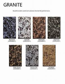 Granite Color Chart Chimney King Color Charts