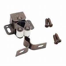 cabinet hardware roller catch brushed bronze ebay