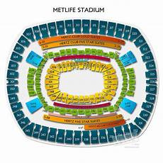 Metlife Virtual Seating Chart Metlife Stadium Concerts Seating Guide For The Multi