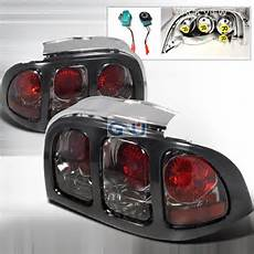 Ford Mustang Euro Lights Ford Mustang 1994 1998 Smoke Euro Lights By Spec D