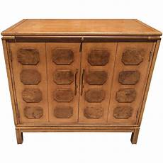 paneled mid century bar cabinet for sale at 1stdibs