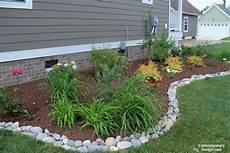 flower bed edging ideas contemporary design