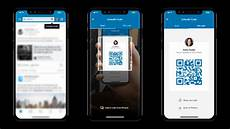 Business Card App For Mac Linkedin App Turns Your Profile Into A Digital Business