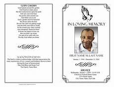 Free Printable Memorial Templates Praying Hands Funeral Program Template Elegant Memorials