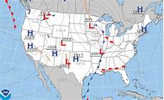 Surface Analysis Chart Depicts Weather Charts