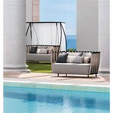 ethimo swing outdoor two seats sofa tattahome