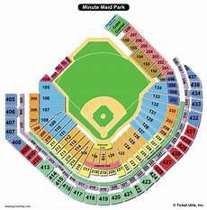 Minute Park Seating Chart With Rows And Seat Numbers Minute Park Seating Chart Seating Charts Amp Tickets