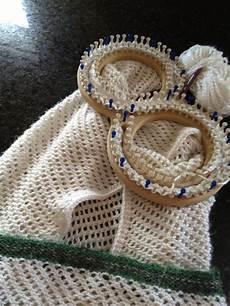 loom knit afghan lace loomed afghan blanket loom