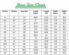 Indian Shoe Size Compared To Usa