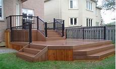 Two Level Deck Designs Two Level Deck Plans Split Level Deck Plans Deck Levels