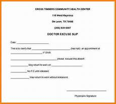 Printable Doctors Notes 9 Free Printable Doctors Note For Work Card Authorization