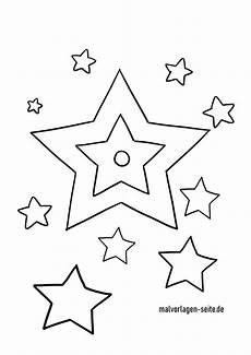 Sterne Malvorlagen Kostenlos Malvorlage Sterne Kostenlose Ausmalbilder