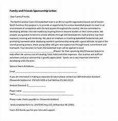 Letter For Sponsorship 45 Sponsorship Letter Templates Word Pdf Google Docs