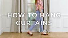 How To Hang Curtains Properly How To Hang Curtains