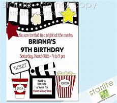 Movie Themed Invitation Template Free Free Printable Kids Birthday Party Invitations