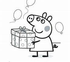 Peppa Wutz Kostenlose Ausmalbilder George With A Peppa Pig Coloring Page
