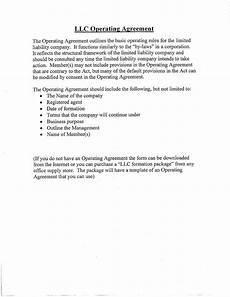 Example Llc Operating Agreement 30 Professional Llc Operating Agreement Templates ᐅ