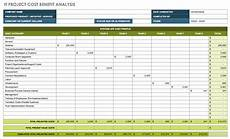 Cost Model Template Free Cost Benefit Analysis Templates Smartsheet