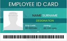 id card design template excel 10 best ms word id cards for office employees word