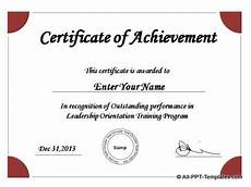 Powerpoint Certificate Of Appreciation Powerpoint Award Templates