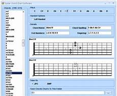 Chord Chart Software Mac изображения Guitar Chord Chart Software