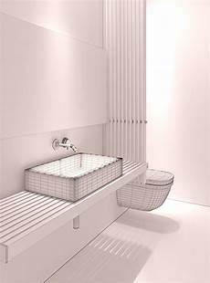 Bathroom Models Modern Bathroom 3d Model Max Fbx Cgtrader