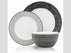 12 Piece Bude Dinner Set   Modern   Dinnerware Sets   by Next