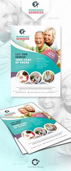 Home Care Flyer Home Care Flyer Templates By Grafilker Graphicriver