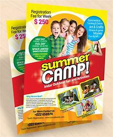 Summer Camp Pamplets 51 Summer Camp Flyer Templates Psd Eps Indesign Word