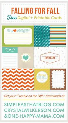 Free Digital Cards Freebie On The Fifth Free Journaling Filler Cards