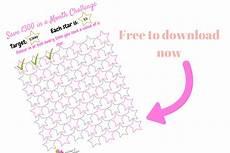 Savings Goal Chart Printable Savings Goal Chart Save 163 300 A Month Challenge
