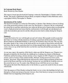 Template For A Report Free 8 Book Report Examples Amp Samples In Doc Pdf Ai