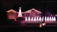 Wizards In Winter Christmas Lights House Christmas Lights To Wizards In Winter Youtube