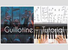 Guillotine   Jon Bellion ft. Travis Mendes   Piano Tutorial Chords   Chordify