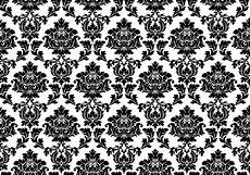 Free Damask Background Damask Black And White Wallpaper Cool Hd Wallpapers