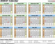 Academic Calendar Template 2020 17 Excel Fiscal Year 2020 Academic Calendar Template Monthly