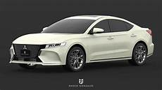 Mitsubishi Galant 2020 by 2020 Mitsubishi Galant Is Unfortunately Only A Render