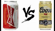 Coors Banquet Vs Coors Light Budweiser Vs Coors Banquet Comparison Youtube