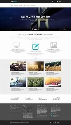Webtemplate Psd Free Business Web Template Psd Css Author