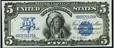 Silver Certificate Dollar Bill Value Chart 1899 5 Silver Certificate Value How Much Is 1899 5