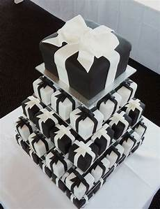 black and white presents white wedding cupcakes wedding