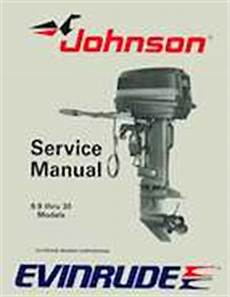 1989 Johnson Evinrude Quot Ce Quot 9 9 Thru 30 Service Manual P N
