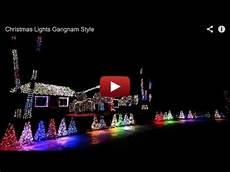 Gangnam Style Lights Christmas Lights Gangnam Style Youtube