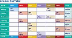 Make A Timetable For Me Top 10 Revision Tips For Your Gcse Pe Class Latest News