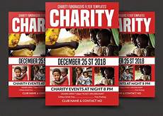 Charity Event Flyer Templates Free Charity Fundraising Flyer Flyer Templates Creative Market